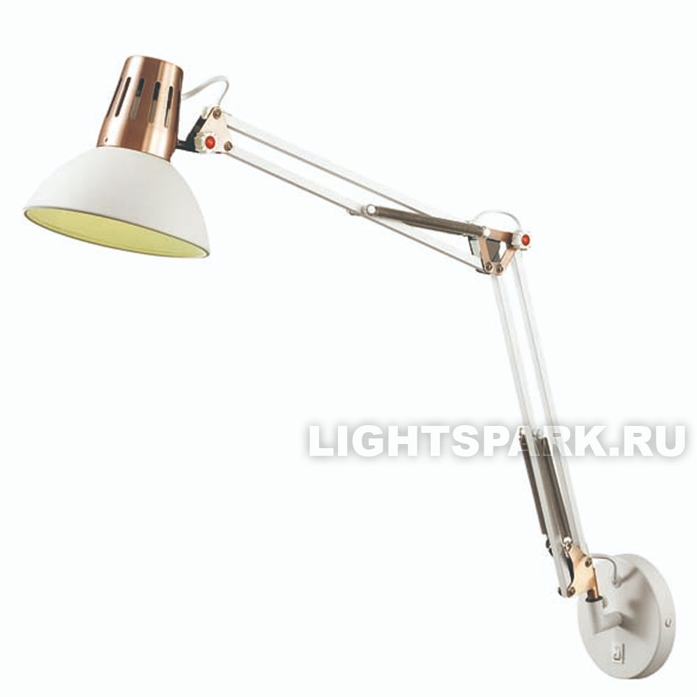 Бра Odeon light KAPAL 3344/1W белый, медь