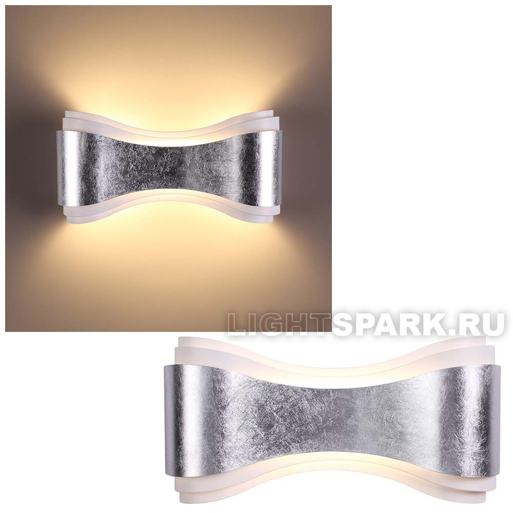 Бра Odeon light FARFI 3894/8WS серебро