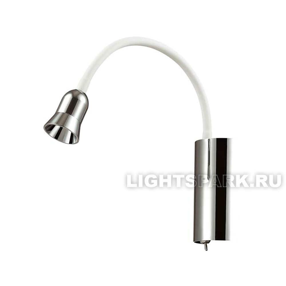Бра Odeon light BRUNO 3987/3WL белый, хром
