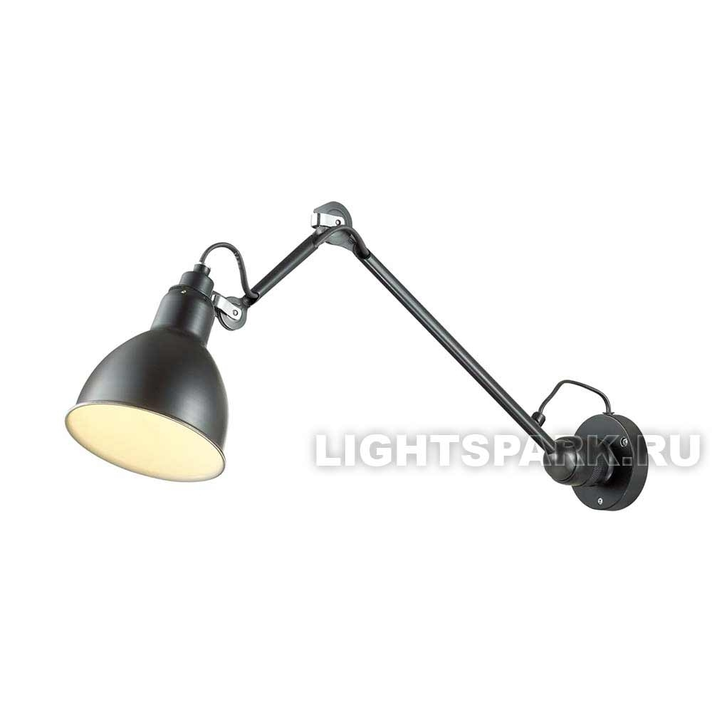 Бра Odeon light ARTA 4125/1WD черный