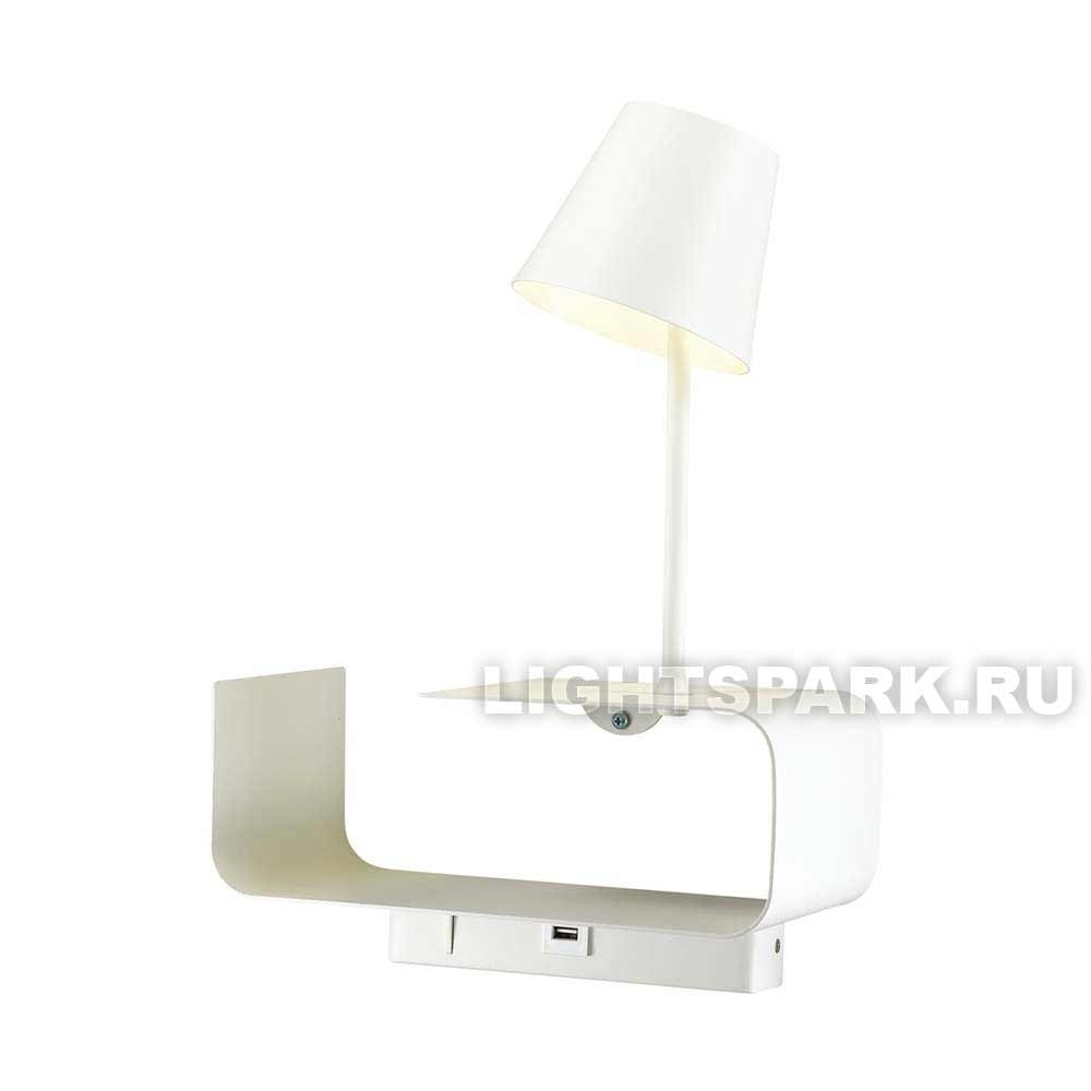 Бра Odeon light SVEN 4161/6WL белый
