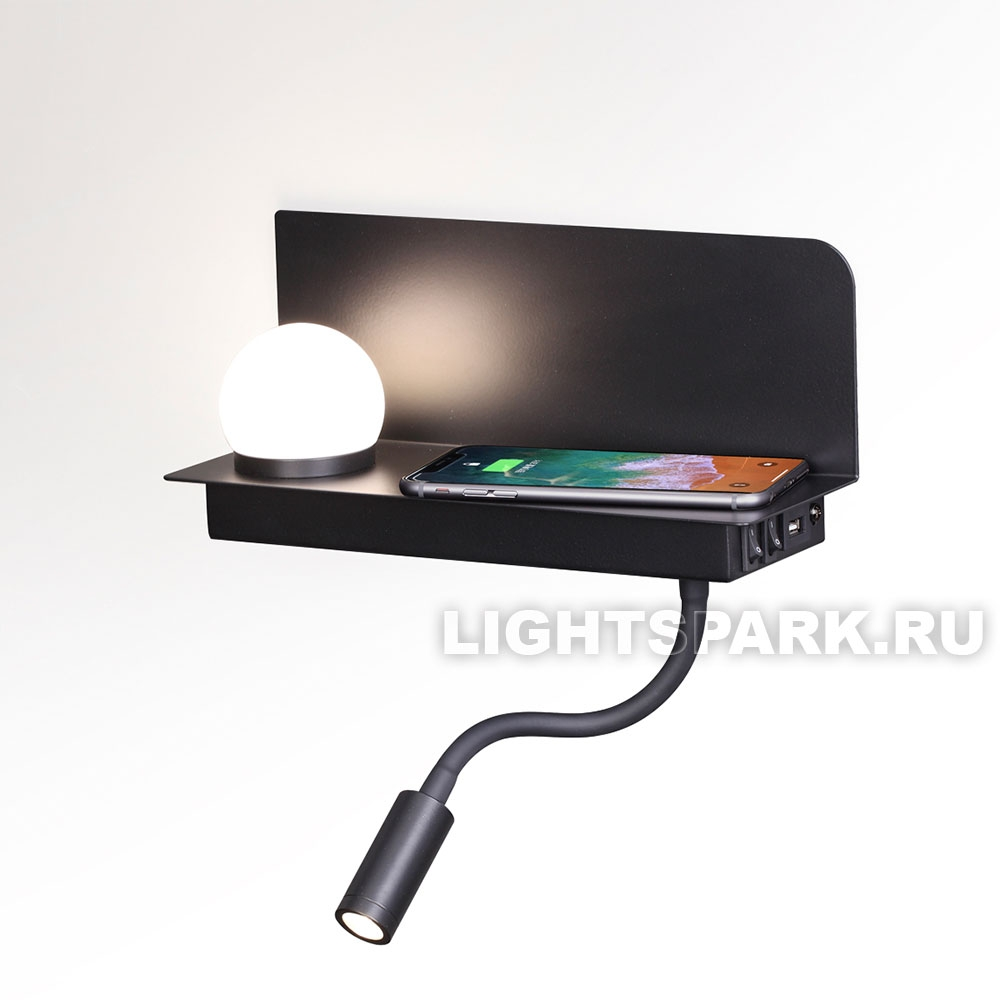 Бра Odeon light SMARTY 4202/6WL черный