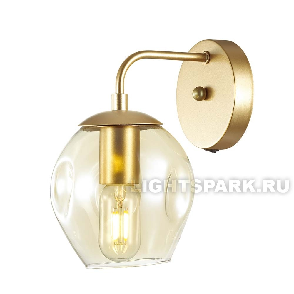 Бра Odeon light KUVA 4660/1W золото