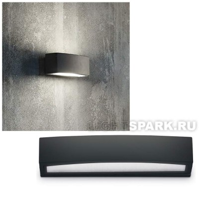 Бра Ideal lux ANDROMEDA AP2 NERO 100371