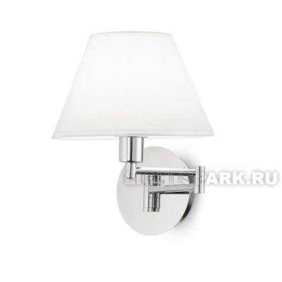 Бра Ideal lux BEVERLY AP1 CROMO 126784