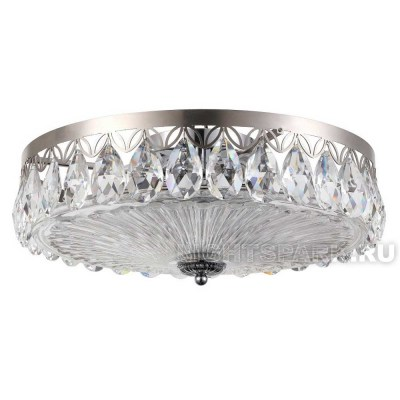 Люстра Crystal lux CANARIA PL6 D480 NICKEL