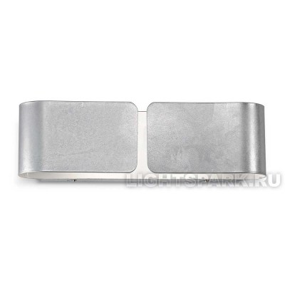 Бра Ideal lux CLIP AP2 SMALL ARGENTO 088273