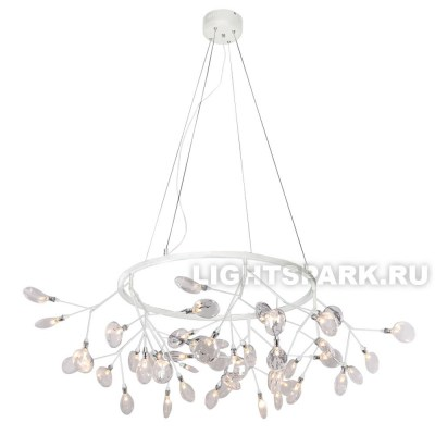 Светильник подвесной Crystal Lux EVITA SP45 D WHITE/TRANSPARENT