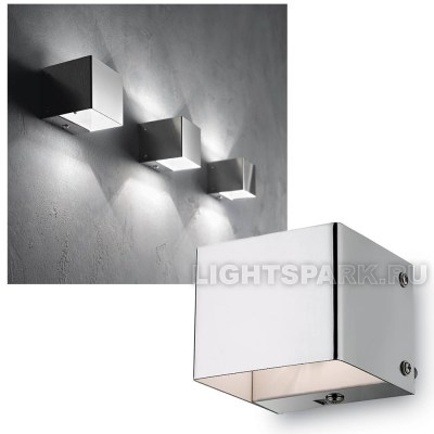 Бра Ideal lux FLASH AP1 CROMO 007380