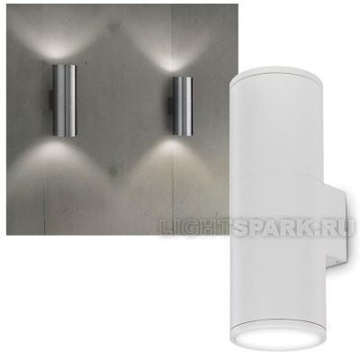 Бра Ideal lux GUN AP2 BIG BIANCO 092300