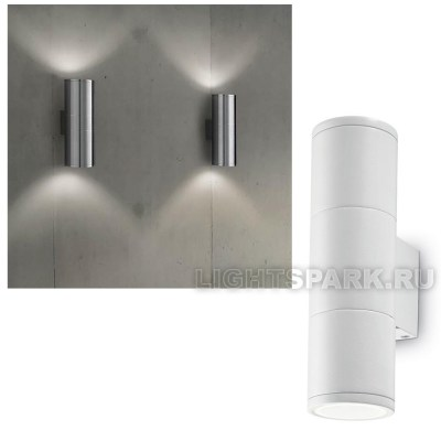 Бра Ideal lux GUN AP2 SMALL BIANCO 100388