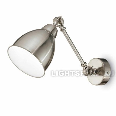 Бра Ideal lux NEWTON AP1 NICKEL 016399