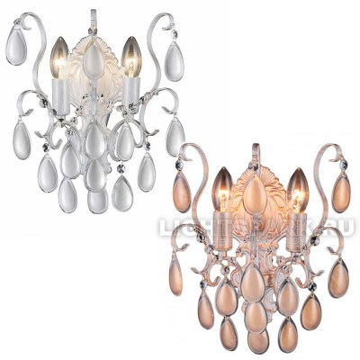 Бра Crystal lux SEVILIA AP2 GOLD, SEVILIA AP2 SILVER