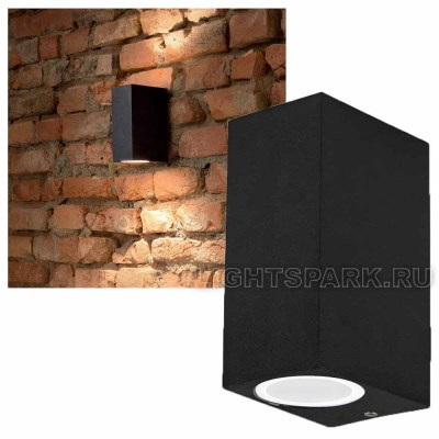 Бра Ideal lux UP AP2 NERO 115344